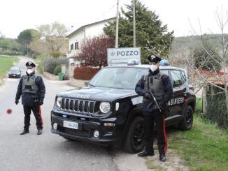 Pozzo di Gualdo Cattaneo zona rossa, anche due carabinieri positivi al Covid-19