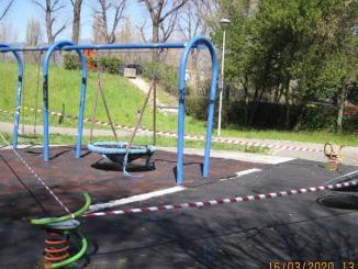 Covid-19, a Terni chiuse anche le aree giochi per bambini