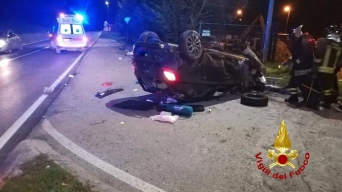 Incidente a Ponte Felcino, giovane muore sul colpo