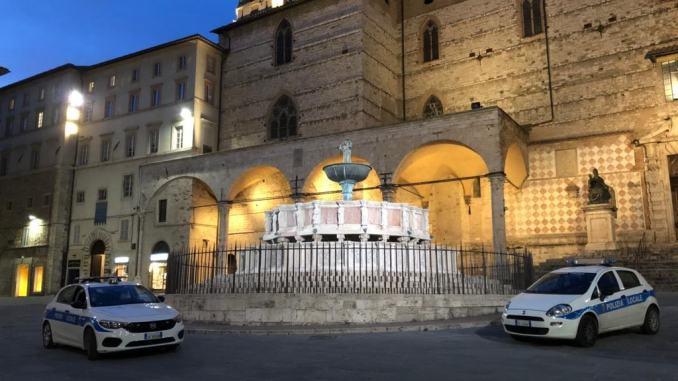 Sanzionati a Perugia 4 trasgressori per spostamenti ingiustificati