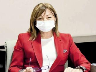 Giunta straordinaria, presidente Donatella Tesei, ordinanza restrittiva del Dpcm