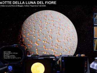 Nave spaziale Astronomitaly video Superluna, la Luna Piena del Fiore