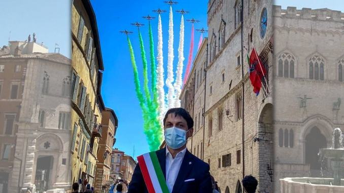 Andrea Romizi, il sindaco Tricolore, a Perugia, ripartiamo con coscienza