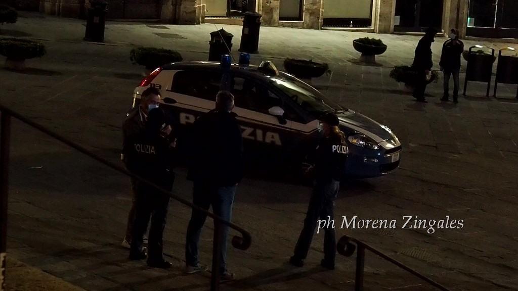 Movida Perugia, cinquanta gli agenti a controllare centro e Fontivegge