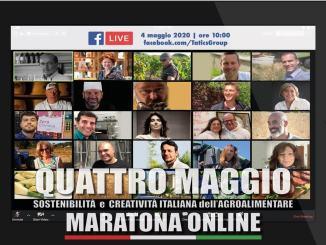 Maratona Online nella sostenibilità e creatività Italiana dell'agroalimentare
