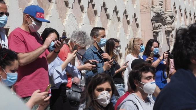 """Cluster covid riscontrati nel Perugino sono di """"importazione"""""""