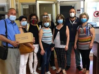 Donazione di mascherine chirurgiche all'ospedale di Terni