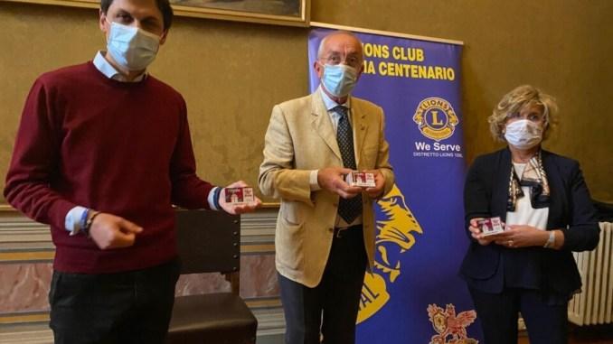 1300 euro al Comune di Perugia in buoni spesa, li ha donati il Lions club perugino