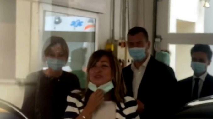 Sbalzo di pressione per la presidente Tesei, dimessa dall'ospedale, ora sta bene