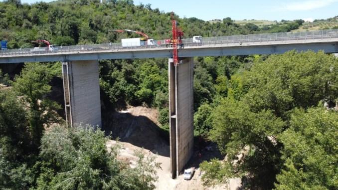 Viadotto Montoro, proseguono i lavori per la riapertura al traffico
