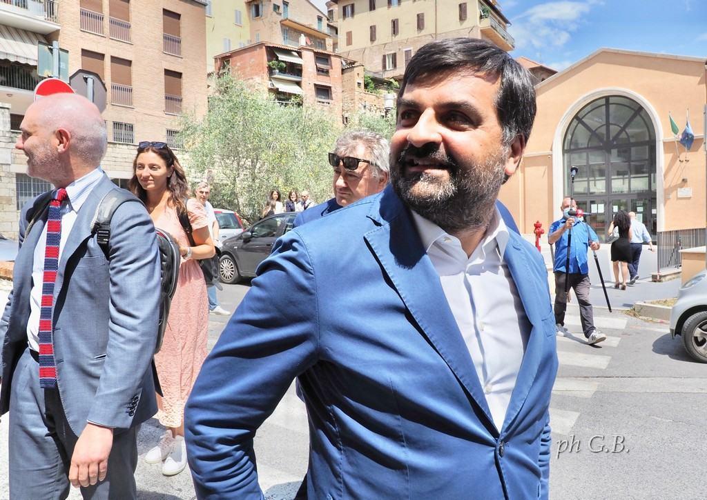 Luca Palamara: «Mi candido perché voglio depoliticizzare la magistratura»