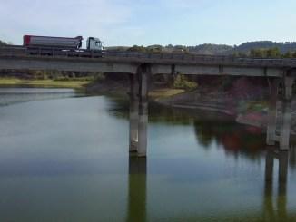 Prosegue cantiere per riapertura strada statale 448 Baschi lago di Corbara