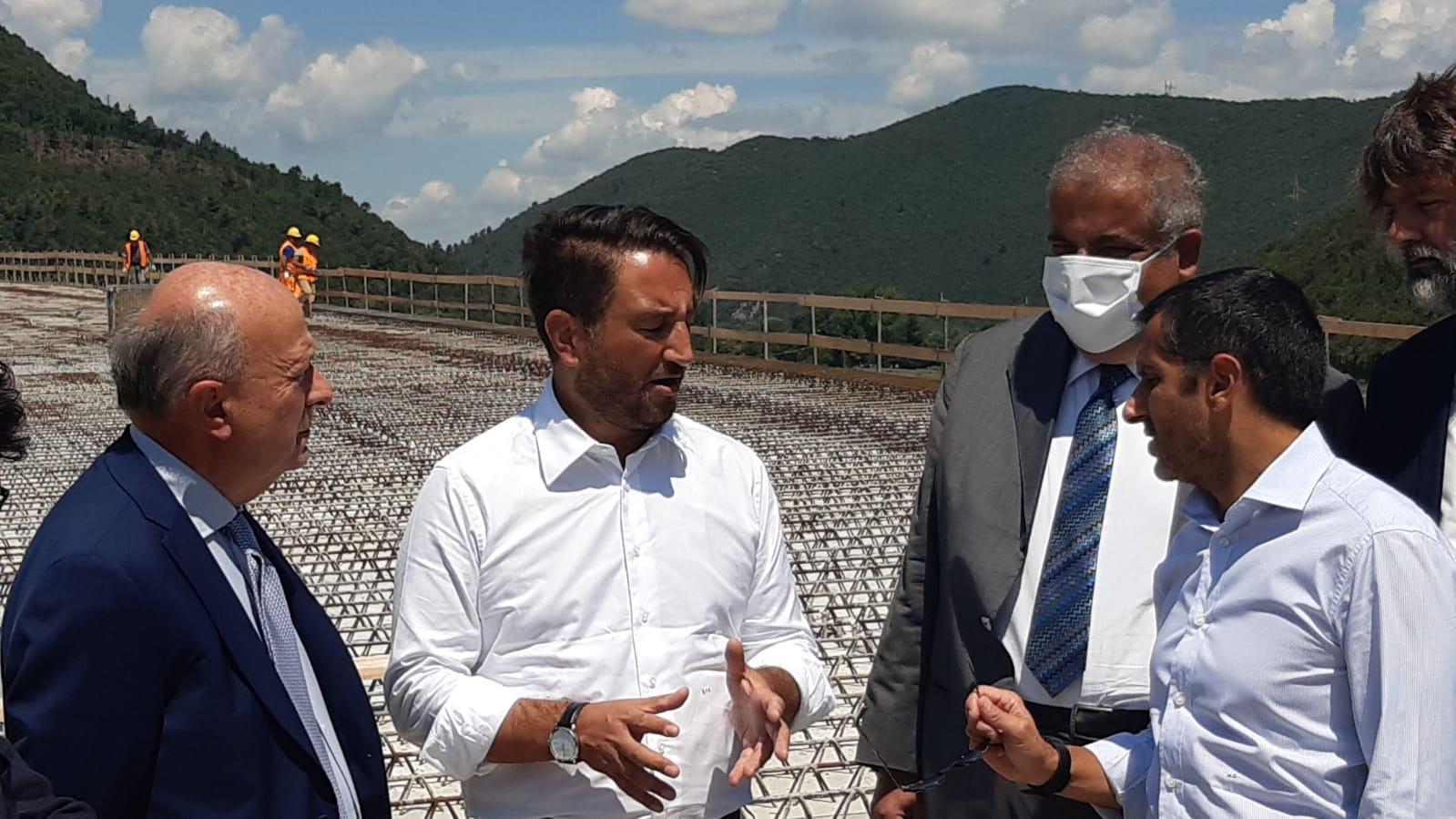 Trasporti e infrastrutture in Umbria viceministro Cancelleri con Melasecche