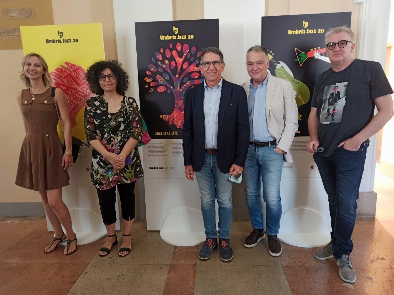 Inaugurate oggi le mostre Umbria Jazz Smart Design e Alberi di Conoscenza