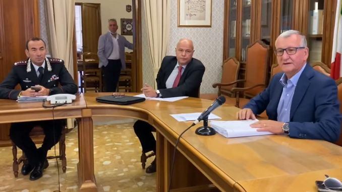 Norme anti covid, riunione comitato per l'Ordine e la Sicurezza Pubblica