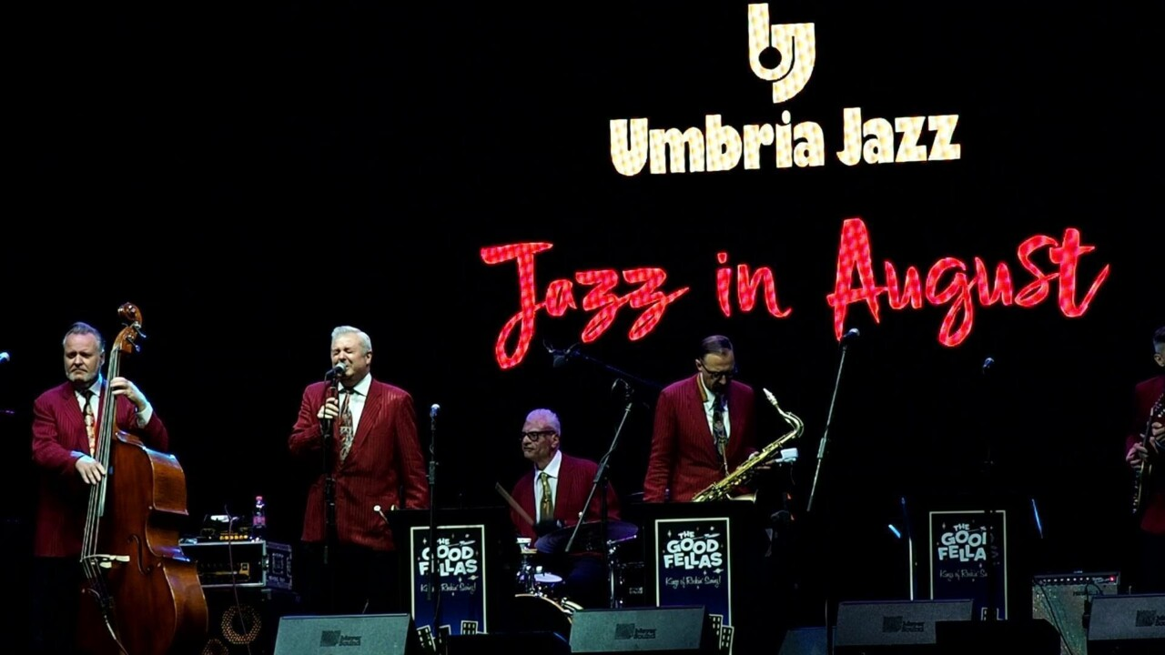 The Good Fellas, il jazz che diverte a Perugia con Umbria Jazz in August 📸 Foto 🔴 Video
