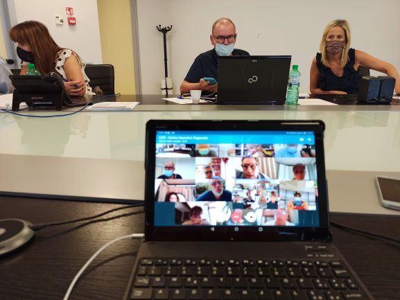 Coronavirus, riunita a Foligno l'unità di crisi della regione Umbria