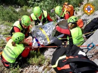 Due richieste di soccorso nell'area del Parco delle Cascata delle Marmore