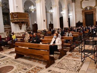 Veglia di preghiera a Spoleto dopo il furto della reliquia di San Giovanni Paolo II