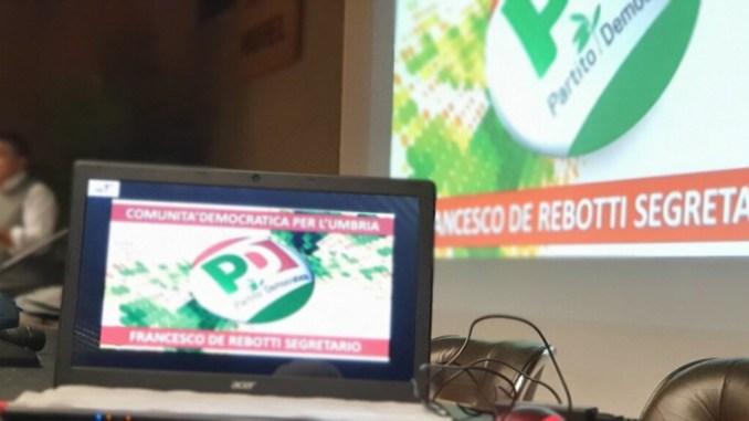 Congresso PD, Francesco De Rebotti risponde a Massimiliano Presciutti