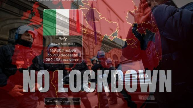 Lockdown covid provocherebbe rivolte armate, evitiamolo, dice Guerra, Oms