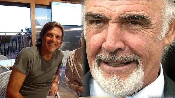 Morto 007, Sean Conneryel'Umbria, l'Agente segreto tifava Marco Negri