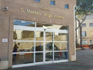 Ospedale Spoleto, 44 i posti letti disponibili area Covid