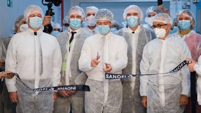 Coronavirus. Sanofi di Anagni inaugura linee produzione vaccino
