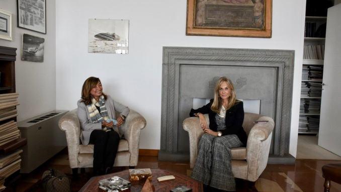 "Presidente Tesei visita l'azienda ""Luisa Spagnoli"" a Perugia"