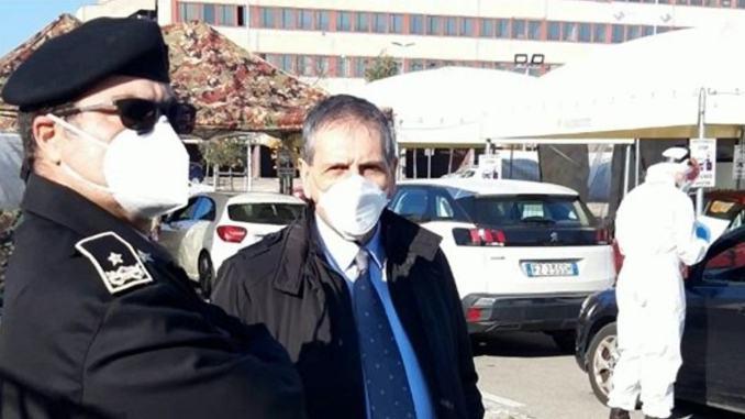 File ed attese azzerate postazione tamponi drive trough azienda usl Umbria 2