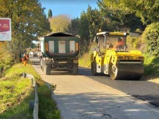 Viabilità, iniziati lavori ripavimentazione su strade San Gemini