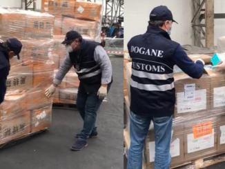 Sdoganate 2.142.000 mascherine cinesi da Agenzia Dogane e Monopoli