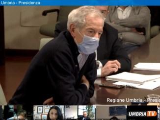 Guido Bertolaso in Umbria, la presentazione oggi alla stampa in streaming
