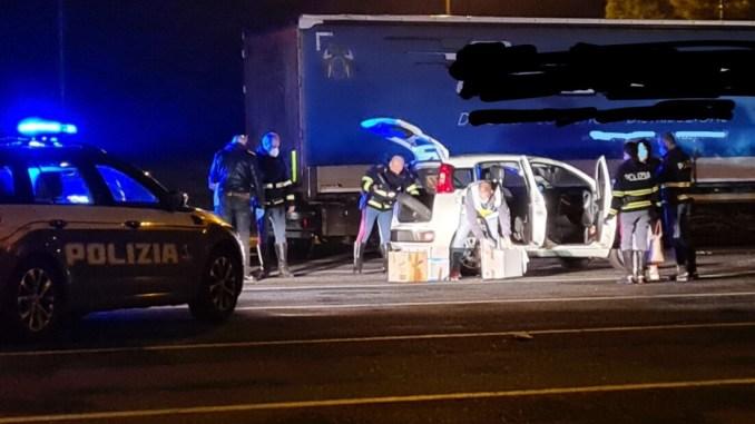 Uomo donna trasportavano droga, la Polstrada di Orvieto ha arrestato entrambi