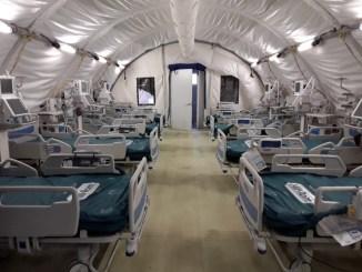 Ospedale da campo non sarebbe utilizzato per mancanza di personale