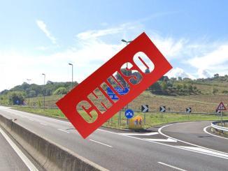 Lavori E45 piano riqualificazione itinerario Orte-Mestre chiuso Todi