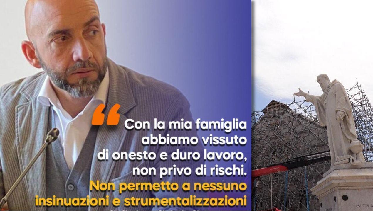 """Post di fuoco di Vincenzo Bianconi: """"Non permetto insinuazioni strumentali"""""""