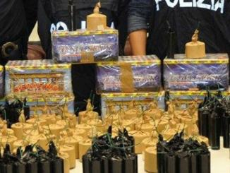 New Rambo e Cobra 7, oltre 3 kg di esplosivo, polizia denuncia 21enne