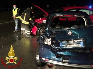 Incidenti stradali sul Raccordo Perugia Bettolle, 6 auto, tre feriti non gravi