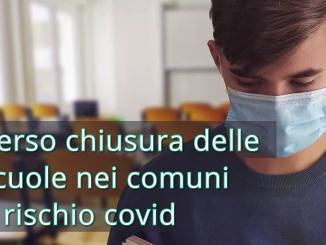 Contagio Covid-19 è difforme da comune a comune, chiusura scuola in aree difficili
