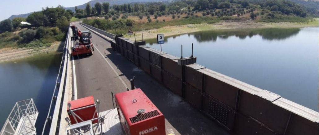 "Anas, SS448 ""di baschi"" proseguono lavori per riapertura ponte Corbara"