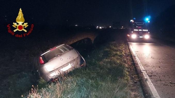 Incidenti stradali nella notte, due auto fuori strada a Marciano e Perugia