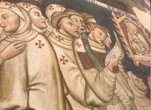 ✍ I Racconti – Lo splendido affresco in Valnerina a ricordo delle processioni dei Bianchi
