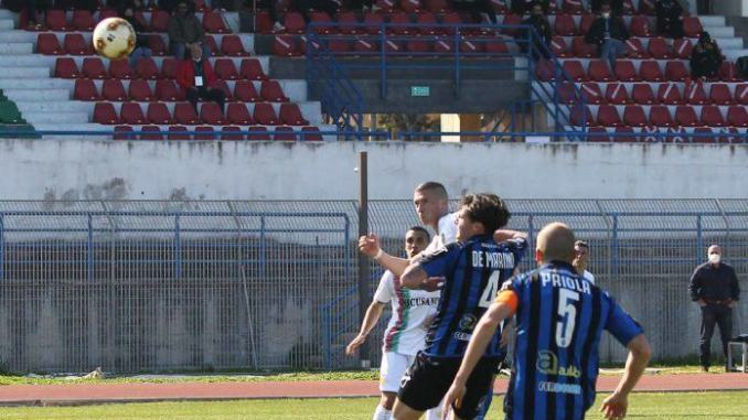 La Ternana passa a Bisceglie per 2-1, reti di Paghera e Suagher
