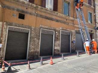 Ripristino servizi pubblici a Perugia e chi ci rimette è il commercio