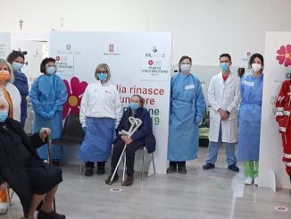 Attivo punto vaccinale anticovid di Amelia presso bocciodromo