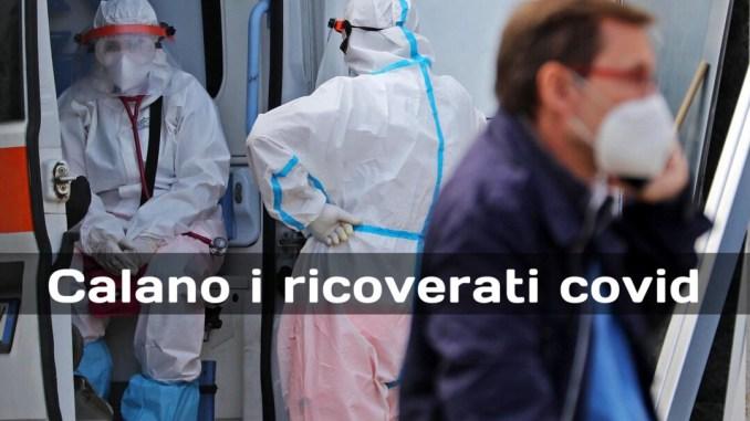Covid-19 in Umbria, scendono attuali positivi e i ricoverati