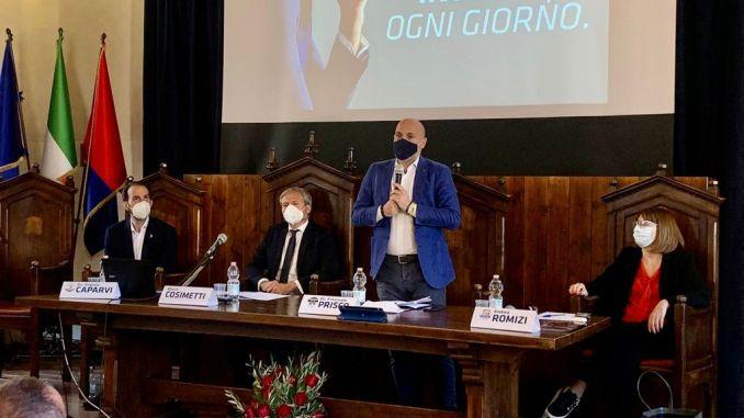 MarcoCosimetti ha presentato la sua candidatura a sindaco di Assisi