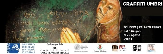 mostra Graffiti Umbria dal 5 giungo a Foligno, Palazzo Trinci