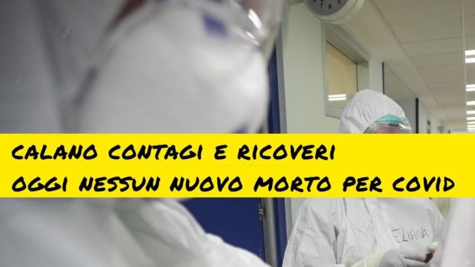 Nessun nuovo morto per covid in Umbria, scende numero ricoveri e contagiati